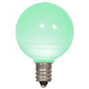Vickerman XLEDCG44-25 G40 Green Ceramic LEDBulb E12 .96W 25/Bx
