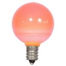 Vickerman XLEDCG49-25 G40 Pink Ceramic LEDBulb E12 .96W 25/Box