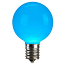 Vickerman XLEDCG5L-25 G50 Teal Ceramic LEDBulb E17 .96W 25/Box
