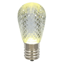 Vickerman XLEDS11 11S14 Faceted LED WmWht Lamp E26