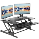 VIVO DESK-V000V2 Black Height Adjustable 36