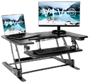 VIVO DESK-V000VE Electric Height Adjustable Standing Tabletop Desk Converter w/ USB 36