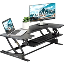 VIVO DESK-V000VLE Black Electric Height Adjustable Extra Wide 42