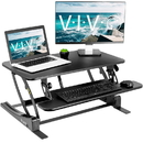 VIVO DESK-V000VS Black Height Adjustable 32
