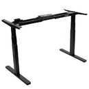 VIVO DESK-V120EB Black Electric Stand Up Desk Frame Motor Standing Height Adjustable Legs