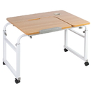 VIVO DESK-V202A Mobile Height Adjustable Desk for Kids and Adults - Interactive Workstation