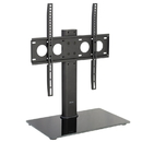 VIVO STAND-TV00J Universal Economic Flat Screen TV Table Top Stand w/ Glass Base for 32