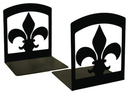 Village Wrought Iron BE-121 Fleur-de-lis - Book Ends