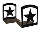 Village Wrought Iron BE-45 Star - Book Ends