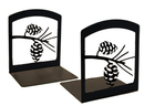 Village Wrought Iron BE-89 Pinecone - Book Ends