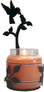 Village Wrought Iron C-LJS-18 Hummingbird - Large Jar Sconce