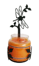 Village Wrought Iron C-LJS-71 Dragonfly - Large Jar Sconce