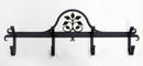 Village Wrought Iron CB-109 Leaf Fan - Coat Bar