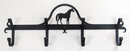 Village Wrought Iron CB-68 Standing Horse - Coat Bar