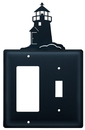 Village Wrought Iron EGS-10 Lighthouse - Single GFI and Switch Cover
