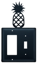 Village Wrought Iron EGS-44 Pineapple - Single GFI and Switch Cover