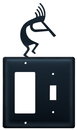 Village Wrought Iron EGS-56 Kokopelli - Single GFI and Switch Cover