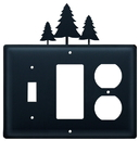Village Wrought Iron ESGO-20 Pine Trees - Single Switch, GFI and Outlet Cover
