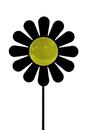 Village Wrought Iron GS-C-97 Daisy - Garden Stake