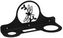 Village Wrought Iron HD-71 Dragonfly - Hair Dryer Rack