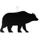 Village Wrought Iron HOS-14 Bear - Decorative Hanging Silhouette