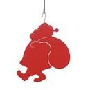 Village Wrought Iron HOS-47R Santa - Decorative Hanging Silhouette