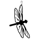 Village Wrought Iron HOS-71 Dragonfly - Decorative Hanging Silhouette