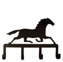Village Wrought Iron KH-17 Running Horse - Key Holder
