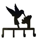 Village Wrought Iron KH-18 Hummingbird - Key Holder