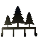 Village Wrought Iron KH-20 Pine Trees - Key Holder