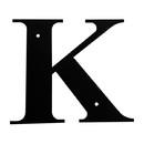 Village Wrought Iron LET-K-M Letter K Medium