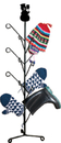 Village Wrought Iron MD-S-8-175 Snowman - Mitten or Boot Dryer Holds 8 Pair