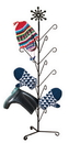 Village Wrought Iron MD-S-8-85 Snowflake - Mitten or Boot Dryer Holds 8 Pair
