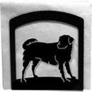 Village Wrought Iron NH-105 Dog - Napkin Holder