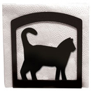 Village Wrought Iron NH-6 Cat - Napkin Holder