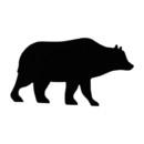 Village Wrought Iron NR-14 Bear - Napkin Ring