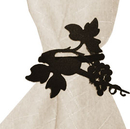 Village Wrought Iron NR-157 Grapevine - Napkin Ring
