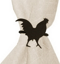 Village Wrought Iron NR-1 Rooster - Napkin Ring