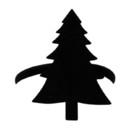 Village Wrought Iron NR-42 Pine Tree - Napkin Ring