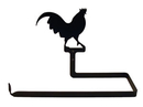 Village Wrought Iron PT-B-1 Rooster - Paper Towel Holder Horizontal Wall Mount
