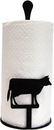 Village Wrought Iron PT-C-5 Cow - Paper Towel Stand
