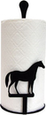 Village Wrought Iron PT-C-68 Horse - Paper Towel Stand