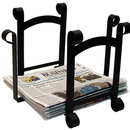 Village Wrought Iron RB-87 Plain - Newspaper Recycle Bin