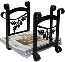 Village Wrought Iron RB-93 Acorn - Newspaper Recycle Bin