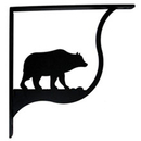 Village Wrought Bear - Shelf Brackets