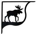 Village Wrought Iron SB-19-L Moose - Shelf Brackets Large