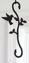 Village Wrought Iron SH-D-18 Hummingbird & Flower - S-Hook
