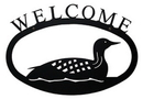 Village Wrought Loon - Welcome Sign