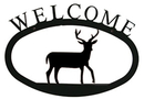 Village Wrought Deer - Welcome Sign