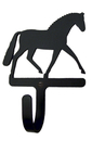 Village Wrought Iron WH-104-S Dressage Horse Wall Hook Sm